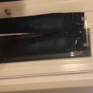 Skinny dark wash American eagle jeans